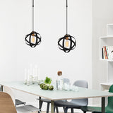 ATOM 2 Ceiling Light Black-Ceiling Light-[sale]-[design]-[modern]-Modern Furniture Deals