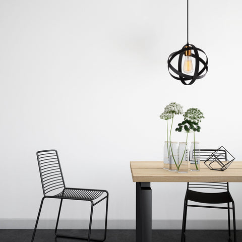 ATOM Black Ceiling Light-Ceiling Light-[sale]-[design]-[modern]-Modern Furniture Deals