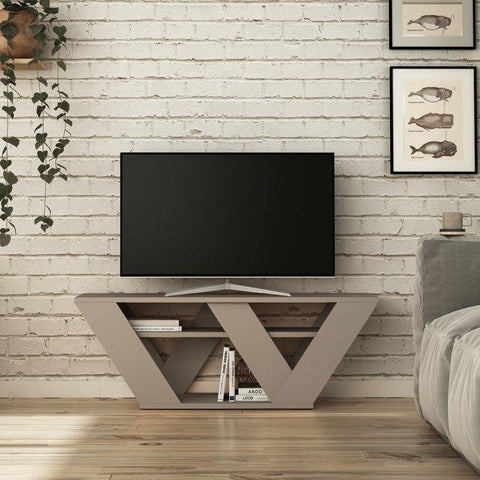 Auro Tv Stand-Grey-Modern Furniture Deals