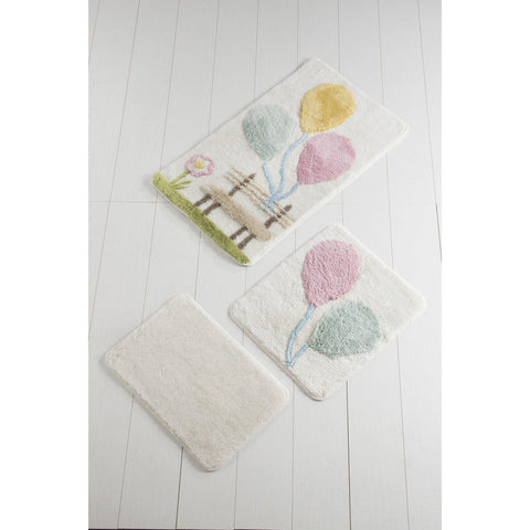 Baloon Pink 2 Bath Mat-Bath Mat-[sale]-[design]-[modern]-Modern Furniture Deals