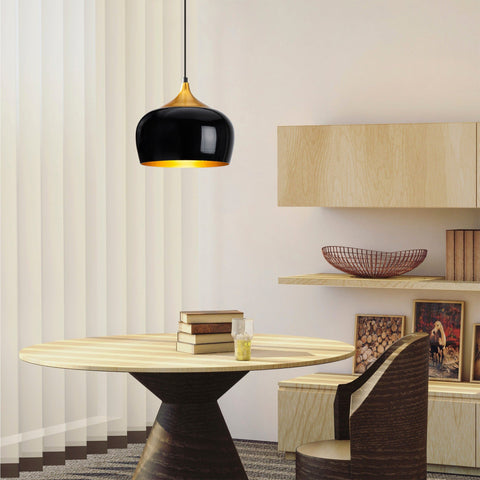 BARB Black Single Ceiling Light-Ceiling Light-[sale]-[design]-[modern]-Modern Furniture Deals