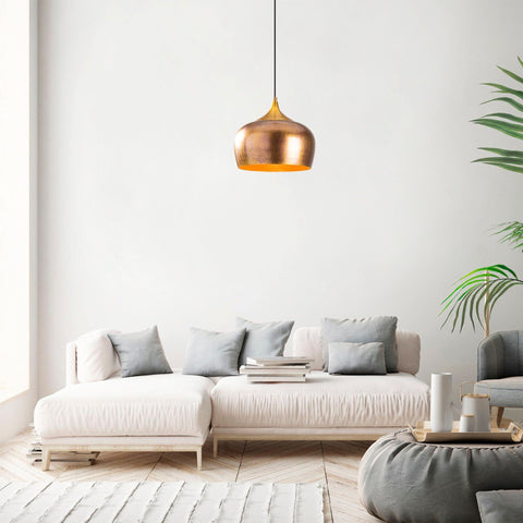 BARB Gold Single Ceiling Light-Ceiling Light-[sale]-[design]-[modern]-Modern Furniture Deals