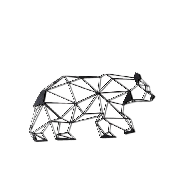 BEAR Wall Art-Metal Wall Art-[sale]-[design]-[modern]-Modern Furniture Deals