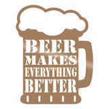 BEER - COPPER Wall Art-Metal Wall Art-[sale]-[design]-[modern]-Modern Furniture Deals