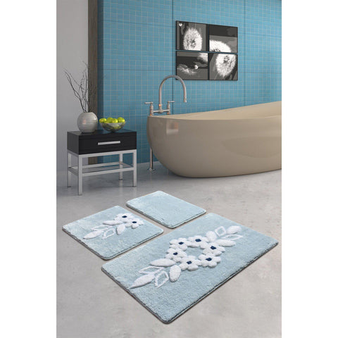 Bella - Blue Bath Mat-Bath Mat-[sale]-[design]-[modern]-Modern Furniture Deals