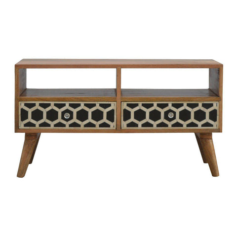Bone Inlay TV Unit-TV STAND-Modern Furniture Deals