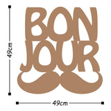 BONJUR - COPPER Wall Art-Metal Wall Art-[sale]-[design]-[modern]-Modern Furniture Deals