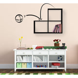 Bouncy Shelf-Black-Modern Furniture Deals