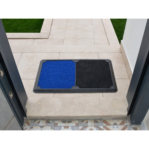 B'Safe Duo - Blue-HOME TEXTILE>DOOR MAT-[sale]-[design]-[modern]-Modern Furniture Deals