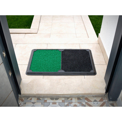 B'Safe Duo - Green-HOME TEXTILE>DOOR MAT-[sale]-[design]-[modern]-Modern Furniture Deals