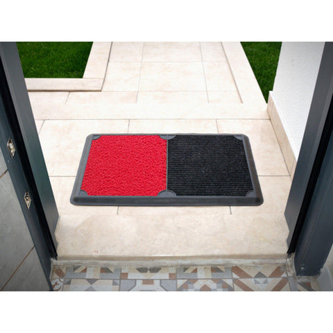 B'Safe Duo - Red-HOME TEXTILE>DOOR MAT-[sale]-[design]-[modern]-Modern Furniture Deals
