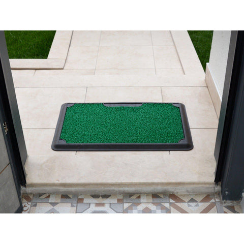 B'Safe - Green-HOME TEXTILE>DOOR MAT-[sale]-[design]-[modern]-Modern Furniture Deals