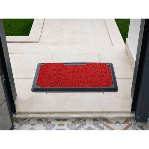 B'Safe - Red-HOME TEXTILE>DOOR MAT-[sale]-[design]-[modern]-Modern Furniture Deals