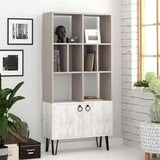 Bueno Bookcase-Mocha-A.White-Modern Furniture Deals