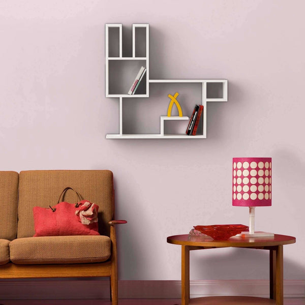 Bunny Shelf-White-Modern Furniture Deals