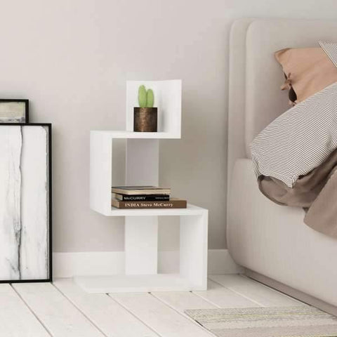 Bunny Side Table-White-Modern Furniture Deals