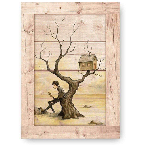 Bush Out Wooden Print-Modern Furniture Deals