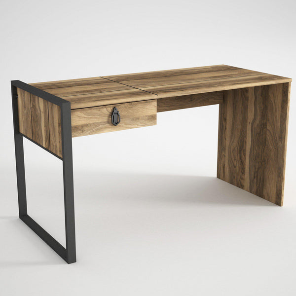 CARLOS - Walnut Desk-FURNITURE>DESKS-[sale]-[design]-[modern]-Modern Furniture Deals