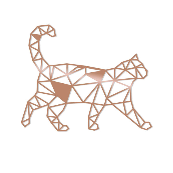 CAT3 - COPPER Wall Art-Metal Wall Art-[sale]-[design]-[modern]-Modern Furniture Deals