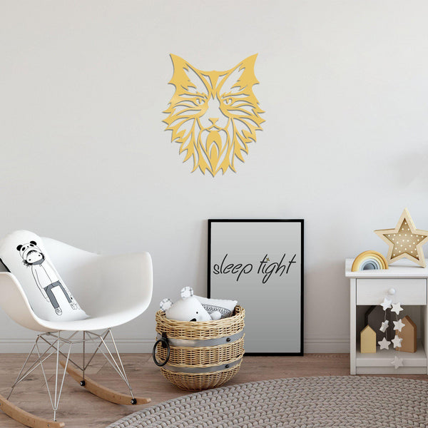 CAT6 - GOLD Wall Art-Metal Wall Art-[sale]-[design]-[modern]-Modern Furniture Deals