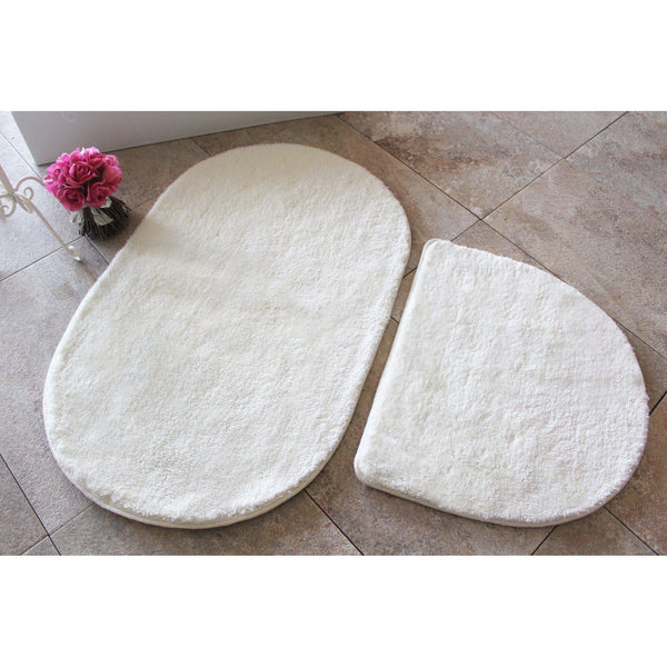 Colors of Oval - Ecru Bath Mat-Bath Mat-[sale]-[design]-[modern]-Modern Furniture Deals