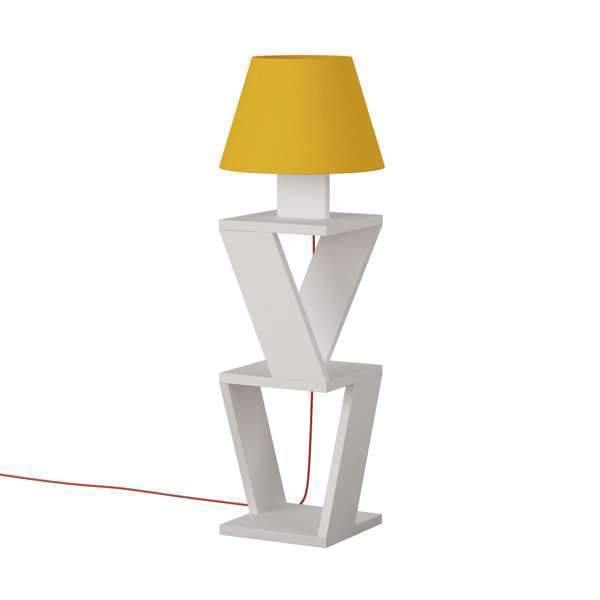Cosy Stand With Light-White-Yellow-Modern Furniture Deals