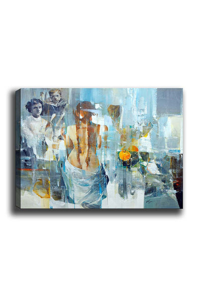 Decorative Canvas Painting (50x70) - 61-Canvas Print-[Famous places, nature, portrait, history, art, gifts, christmas, new year, kitchen, bathroom, office]-Modern Furniture Deals