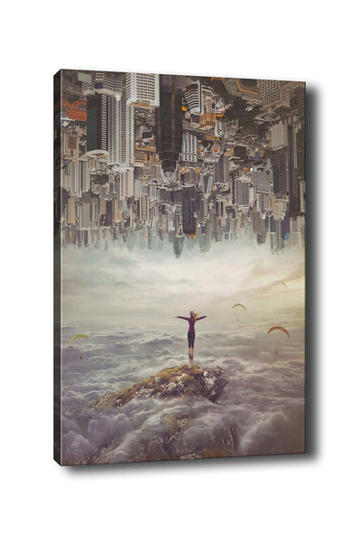 Decorative Canvas Painting (70x100) - 138-Canvas Print-[Famous places, nature, portrait, history, art, gifts, christmas, new year, kitchen, bathroom, office]-Modern Furniture Deals