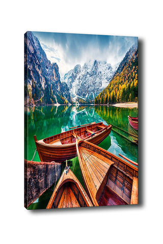Decorative Canvas Painting (70x100) - 186-Canvas Print-[Famous places, nature, portrait, history, art, gifts, christmas, new year, kitchen, bathroom, office]-Modern Furniture Deals
