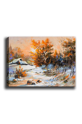 Decorative Canvas Painting (70x100) - 187-Canvas Print-[Famous places, nature, portrait, history, art, gifts, christmas, new year, kitchen, bathroom, office]-Modern Furniture Deals
