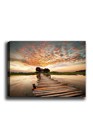 Decorative Canvas Painting (70x100) - 188-Canvas Print-[Famous places, nature, portrait, history, art, gifts, christmas, new year, kitchen, bathroom, office]-Modern Furniture Deals