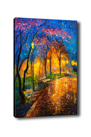 Decorative Canvas Painting (70x100) - 19-Canvas Print-[Famous places, nature, portrait, history, art, gifts, christmas, new year, kitchen, bathroom, office]-Modern Furniture Deals