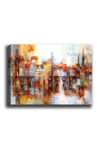 Decorative Canvas Painting (70x100) - 190-Canvas Print-[Famous places, nature, portrait, history, art, gifts, christmas, new year, kitchen, bathroom, office]-Modern Furniture Deals