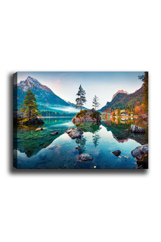 Decorative Canvas Painting (70x100) - 191-Canvas Print-[Famous places, nature, portrait, history, art, gifts, christmas, new year, kitchen, bathroom, office]-Modern Furniture Deals