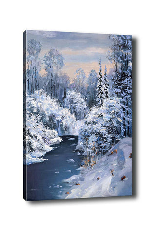 Decorative Canvas Painting (70x100) - 26-Canvas Print-[Famous places, nature, portrait, history, art, gifts, christmas, new year, kitchen, bathroom, office]-Modern Furniture Deals