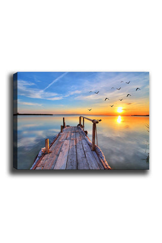 Decorative Canvas Painting (70x100) - 27-Canvas Print-[Famous places, nature, portrait, history, art, gifts, christmas, new year, kitchen, bathroom, office]-Modern Furniture Deals