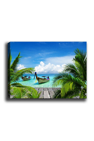 Decorative Canvas Painting (70x100) - 31-Canvas Print-[Famous places, nature, portrait, history, art, gifts, christmas, new year, kitchen, bathroom, office]-Modern Furniture Deals