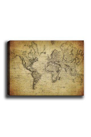 Decorative Canvas Painting (70x100) - 32-Canvas Print-[Famous places, nature, portrait, history, art, gifts, christmas, new year, kitchen, bathroom, office]-Modern Furniture Deals