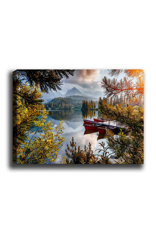 Decorative Canvas Painting (70x100) - 38-Canvas Print-[Famous places, nature, portrait, history, art, gifts, christmas, new year, kitchen, bathroom, office]-Modern Furniture Deals