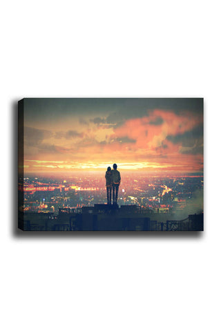 Decorative Canvas Painting (70x100) - 57-Canvas Print-[Famous places, nature, portrait, history, art, gifts, christmas, new year, kitchen, bathroom, office]-Modern Furniture Deals