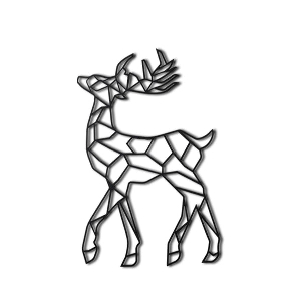 DEER Wall Art-Metal Wall Art-[sale]-[design]-[modern]-Modern Furniture Deals