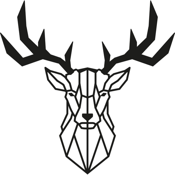 DEER2 Wall Art-Metal Wall Art-[sale]-[design]-[modern]-Modern Furniture Deals