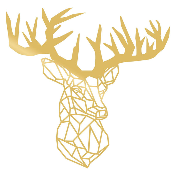 DEER3 - GOLD Wall Art-Metal Wall Art-[sale]-[design]-[modern]-Modern Furniture Deals