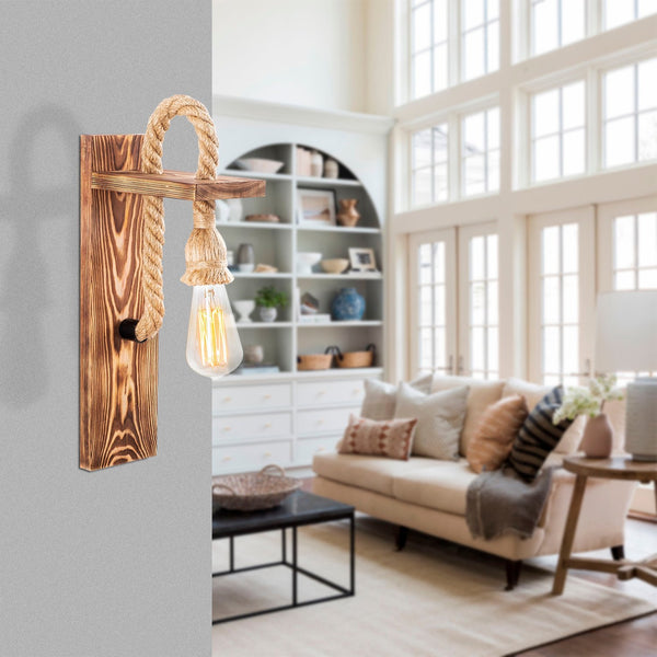 DEMI Wooden Wall Light-Wall Light-[sale]-[design]-[modern]-Modern Furniture Deals