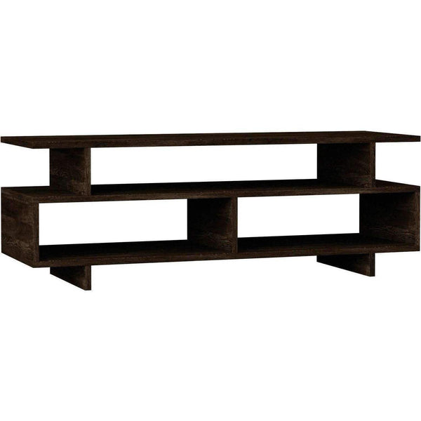 Dexter Tv Stand-Dark Brown-Modern Furniture Deals