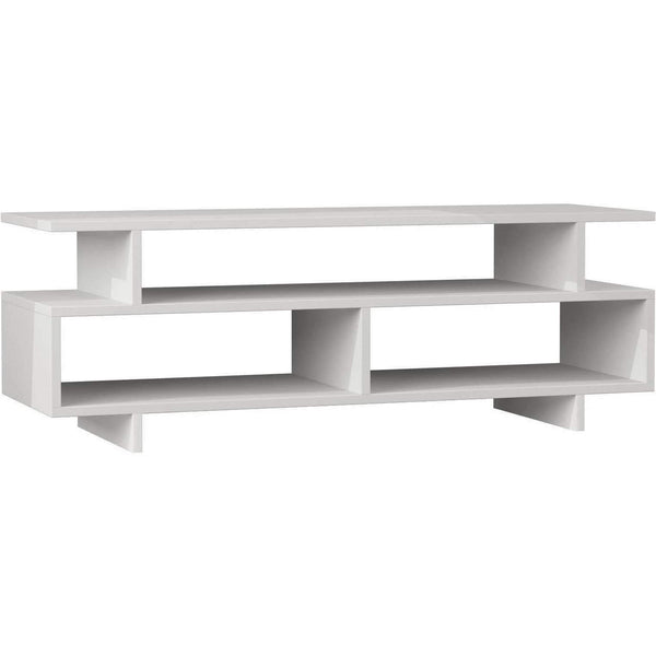Dexter Tv Stand-White-Modern Furniture Deals