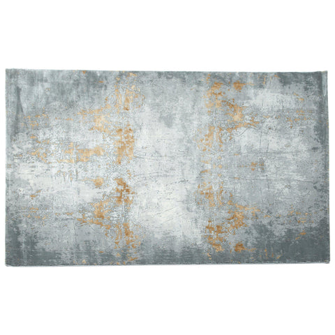 Dina Grey Gold Rug 80X300-Modern Furniture Deals