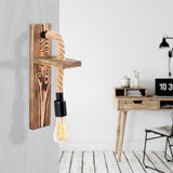 DORA Wooden Single Wall Light-Wall Light-[sale]-[design]-[modern]-Modern Furniture Deals