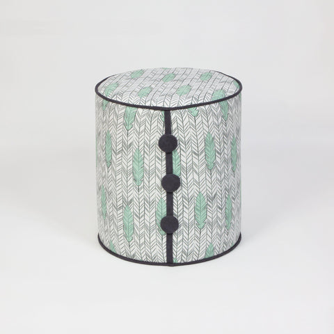 Dots Fish Pouffe-FURNITURE>POUFFES-[sale]-[design]-[modern]-Modern Furniture Deals