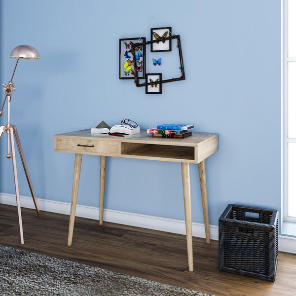 ECLEC One Drawer Scandinavian Desk-Desk-[sale]-[design]-[modern]-Modern Furniture Deals